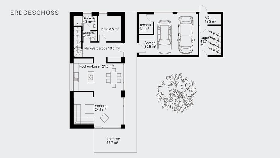 fwm bauart gmbh passiv hofhaus. Black Bedroom Furniture Sets. Home Design Ideas